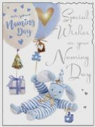 Boys Naming Day Greeting Card